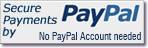 Secure payments from PayPal